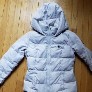 Kids Abercrombie & Fitch Winter coat large Gray